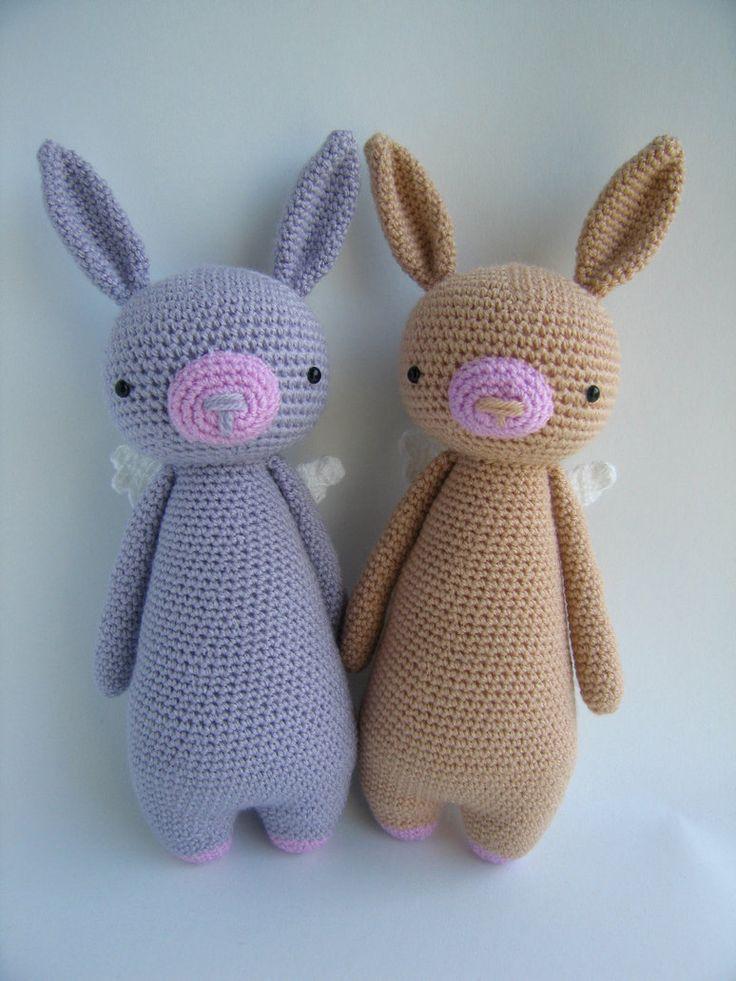 17 mejores imagenes sobre Crochet Amigurumi - Bunny en ...