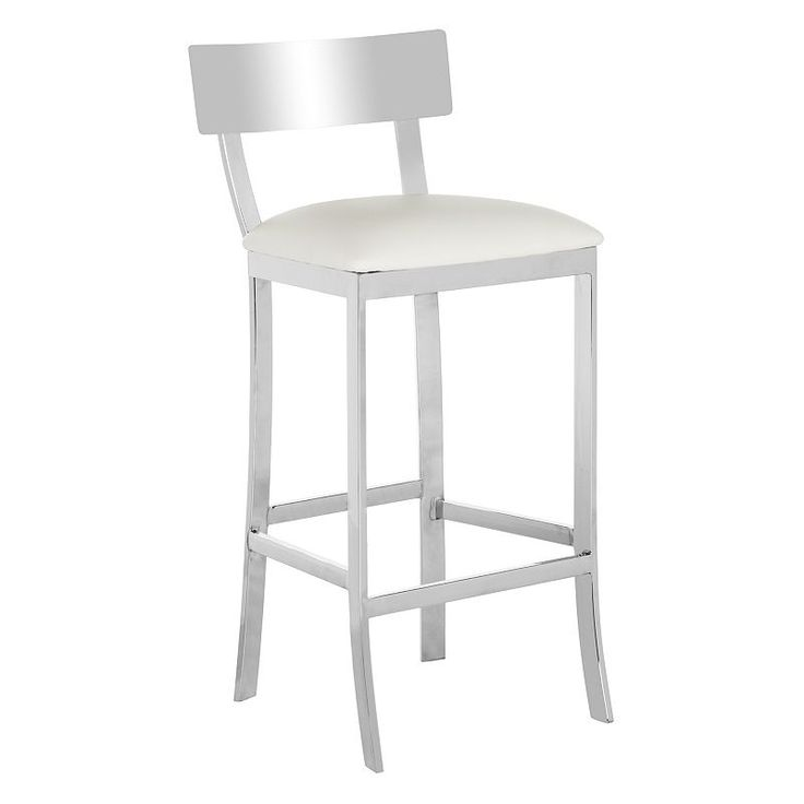 Safavieh Stainless Steel Bar Stool,