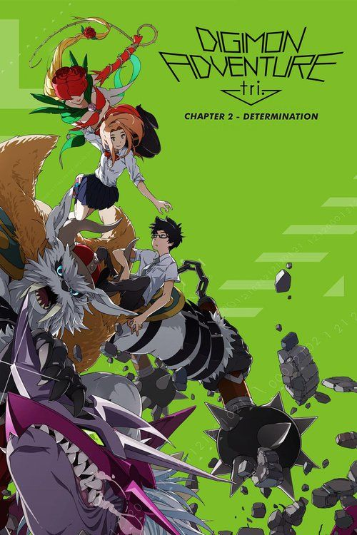 Watch Digimon Adventure Tri. - Chapter 2: Determination (2016) Full Movie Online Free