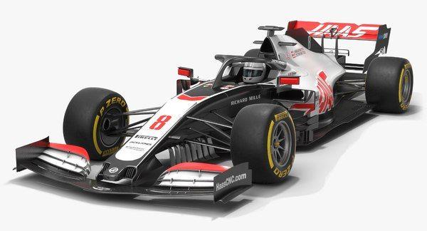 Haas F1 Team Formula 1 Model Turbosquid 1525381 In 2020 Haas F1 Team Formula 1 Formula