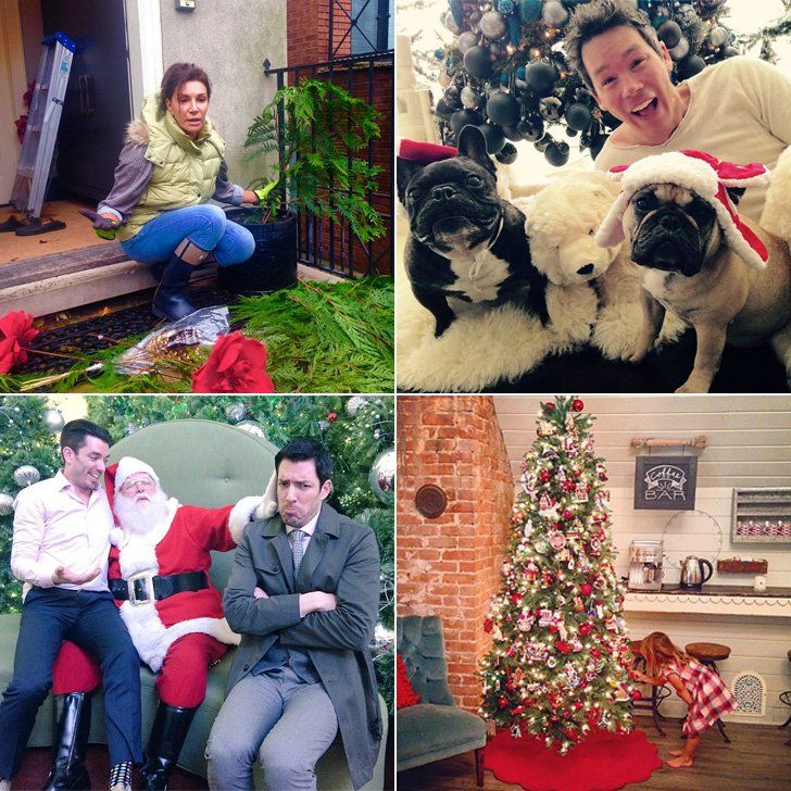 How Your Favorite HGTV Stars Decorate For the Holidays