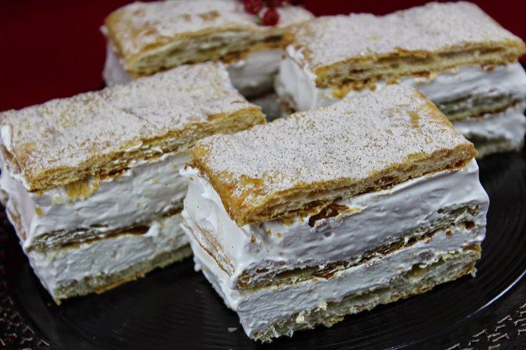 Deliciosas y muy sencillas Milhojas de merengue expres , más facilitas, no pueden ser! Con Thermomix .