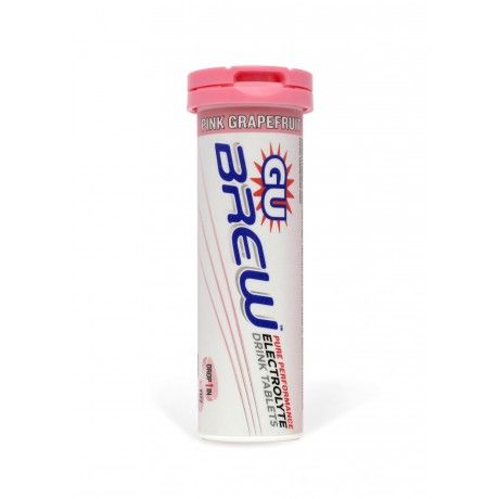 GU Brew Electrolyte Tablets are an effervescent, easy-to-mix hydration solution which replace all the good stuff you lose when you push your body to its limits.