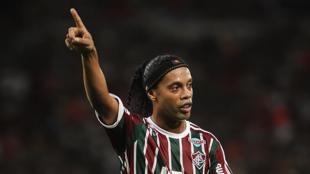 Fluminense-Gremio: así fue la vuelta de Ronaldinho al fútbol brasileño