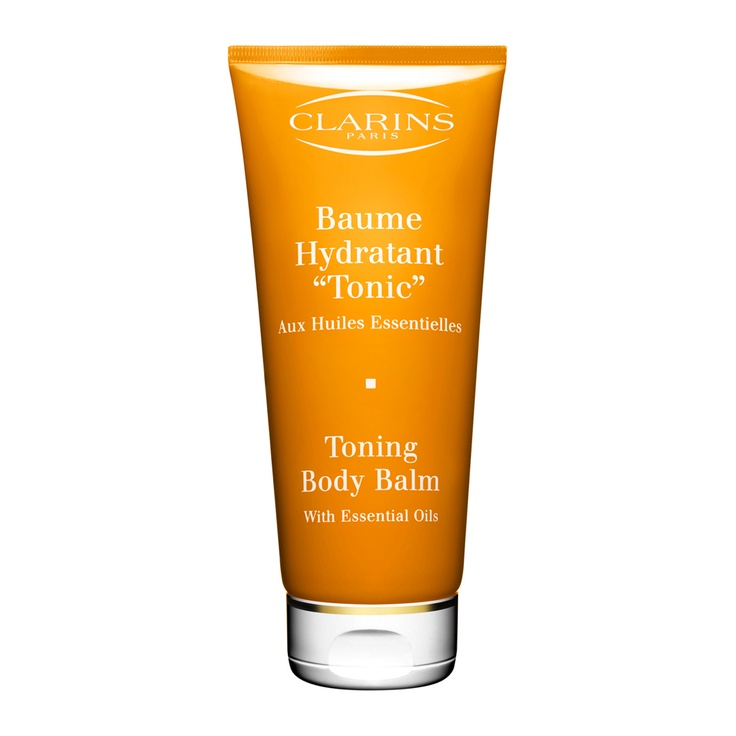Toning Body Balm with 100% Pure Plant Extracts - Change your tone! This refreshing body treatment—with a firming blend of Ginseng and Apple Seed Oil—soothes dryness, improves vitality and promotes the appearance of toned, supple-looking skin. Refreshes the senses with the aromatic essences of Geranium, Rosewood, Mint and Rosemary. Non-oily texture delivers a satin-fresh finish. Smooth on after Tonic Bath & Shower Concentrate and Tonic Body Treatment Oil for a professional, at-home spa...