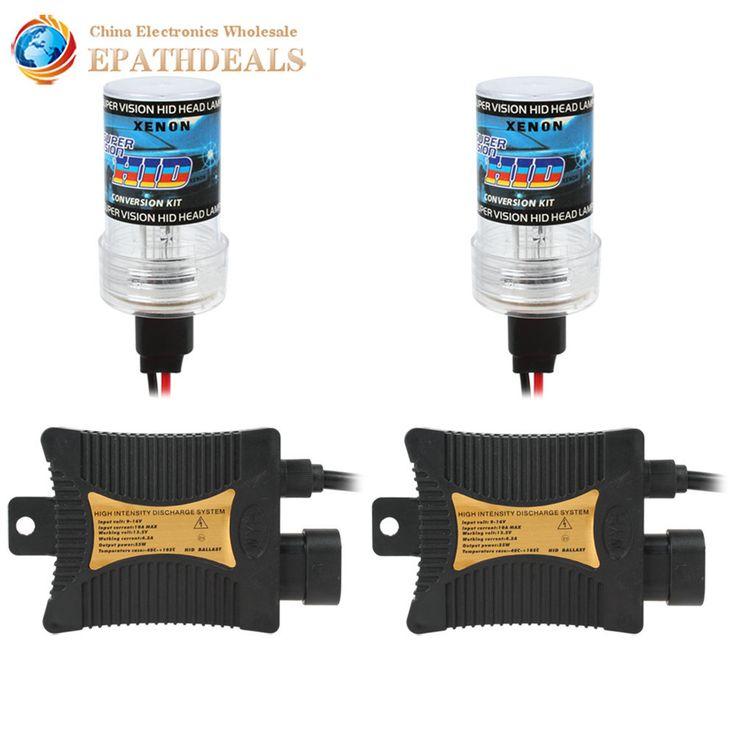 $19.08 (Buy here: https://alitems.com/g/1e8d114494ebda23ff8b16525dc3e8/?i=5&ulp=https%3A%2F%2Fwww.aliexpress.com%2Fitem%2F12V-55W-3200LM-2-x-H3-HID-Bulb-Xenon-Headlight-2-x-Ballasts-with-5-Color%2F32348664839.html ) 12V 3200LM 55W 2 x H3 Xenon HID Kit Auto Car Headlight Bulb Xenon HID Ballast Head Light ( 4300K / 6000K / 8000K / 12000K ) for just $19.08