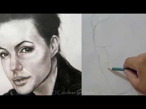 Como dibujar un rostro ( Aprende a proporcionar un retrato - Encaje ) Tutorial completo de Dibujo - YouTube