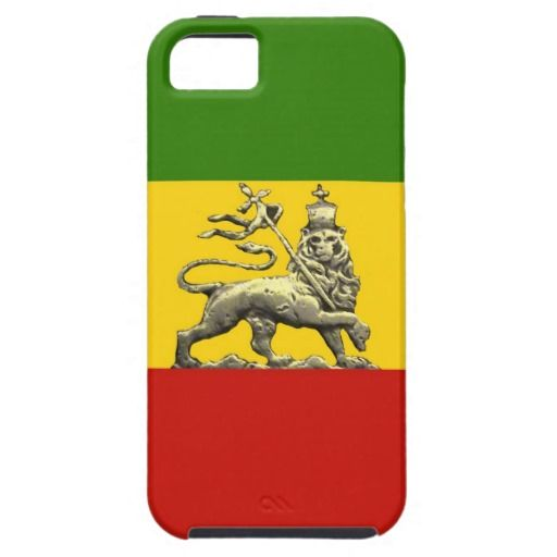 Rasta Lion of Judah Iphone 5.5S case iPhone 5 Covers