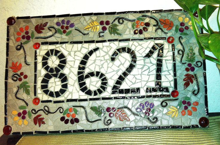 Remarkable 82 Best Mosaic Signs Images On Pinterest Door Handles Collection Olytizonderlifede