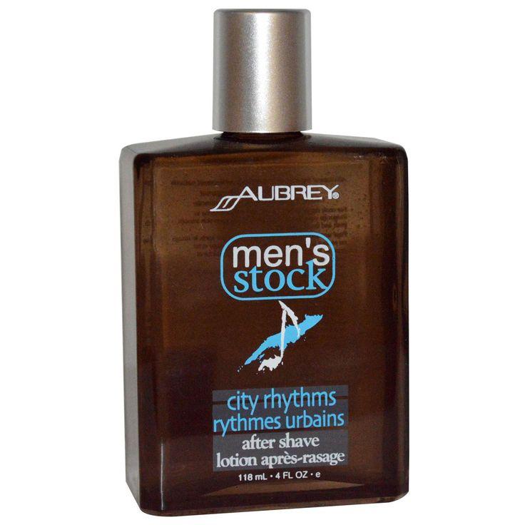 Aubrey Organics, Men's Stock, City Rhythms After Shave, 4 fl oz (118 ml)