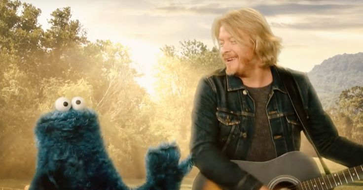 """Little Big Town got in touch with their trippier side during a recent visit to, of all places, Sesame Street. (Watch the clip above.)                 Drenched in artificial sunlight and a psychedelic camera filter, the band performs """"I Is for Instruments,"""" a laid-back ditty about, you guessed it,"""