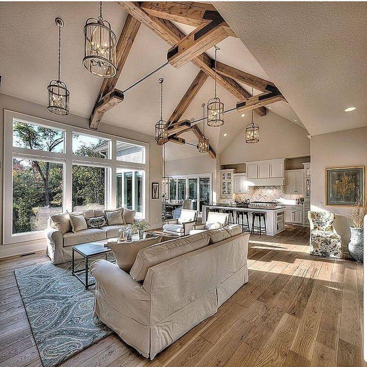 "15 Beautiful Living Room Lighting Ideas: Grace R On Instagram: ""Beautiful Warm Tones Compliment"