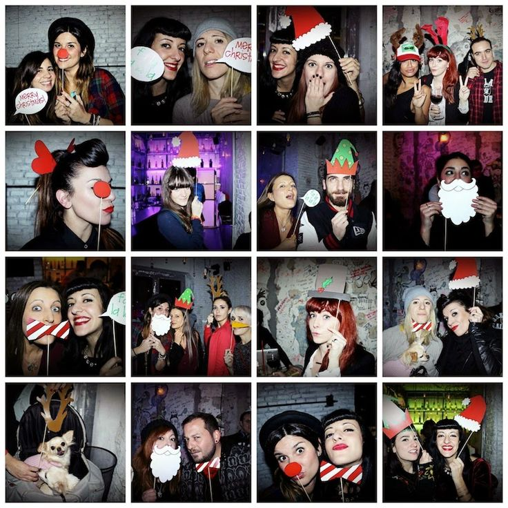 A Sunday morning with: Photo booth props per le vostre foto di Natale.