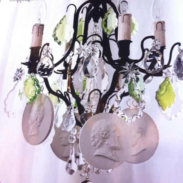 Gustavian chandelier, vintage . Gorgeous!