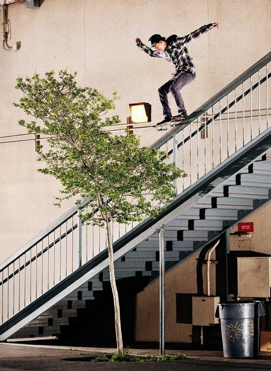 Nyjah Huston   Thrasher Mag presents:– Fade to black (Clip)
