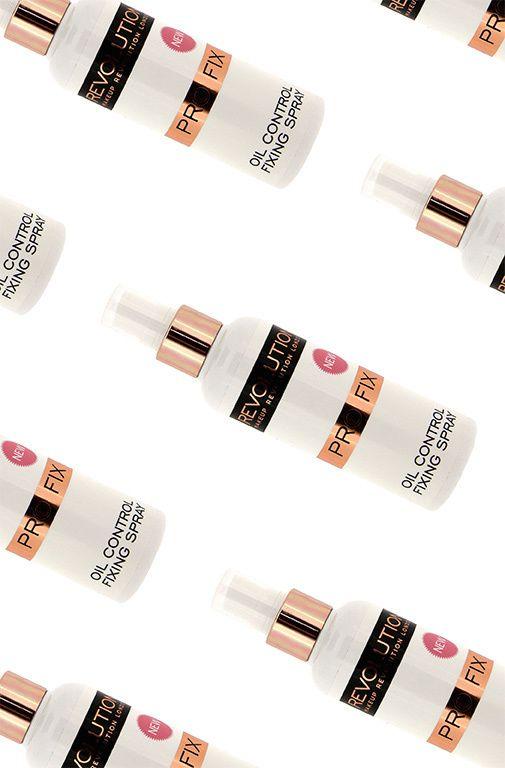 The best makeup fixing sprays. @MURevolution Pro Fix Oil Control Makeup Fixing Spray, £5