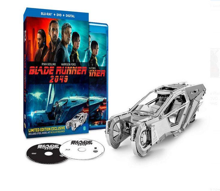 Blade Runner 2049 (Blu-ray/DVD/Digital +Spinner Car Kit) Walmart Exclusive NEW