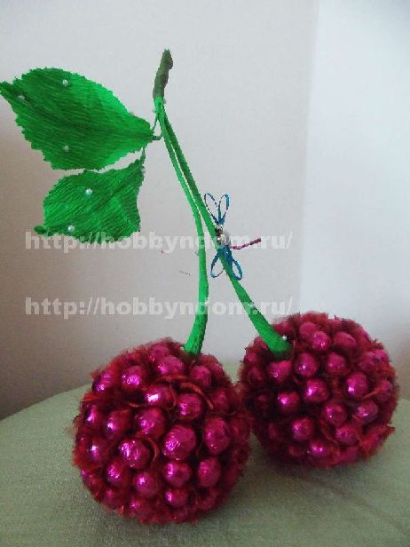 Sweets Cherries - step by step tutorial - Bildanleitung