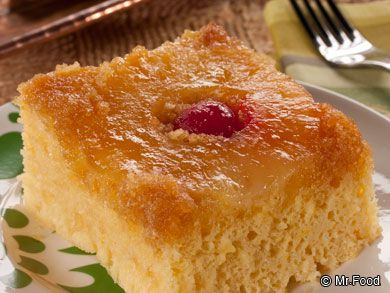 Quick Pineapple Upside Down Cake - A tropical dessert recipe to add ...