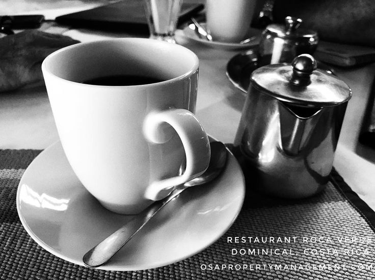 #costarica has the best #coffee in the world (of course, we're a bit biased) #travel #vacation #puravida #breakfast