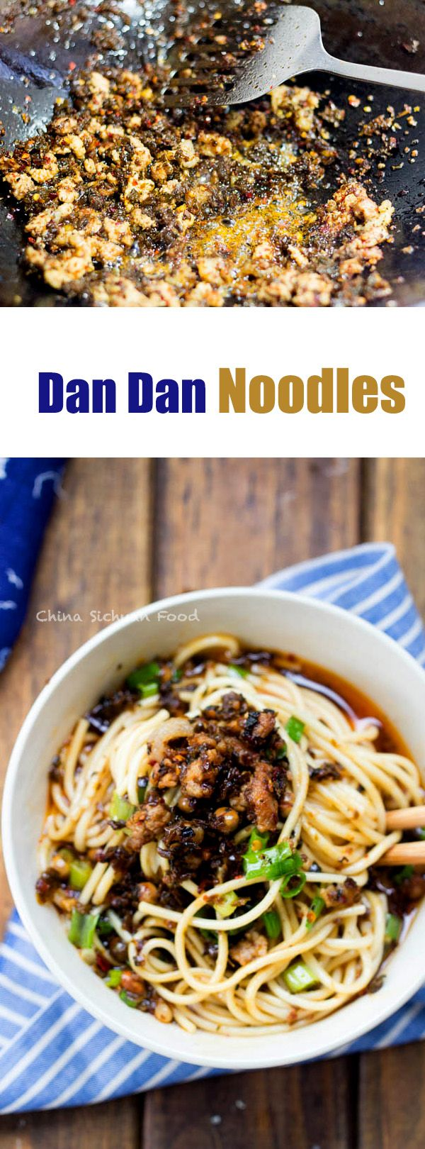 Seriously Szechuan Dan Dan #Noodles  #Chinese