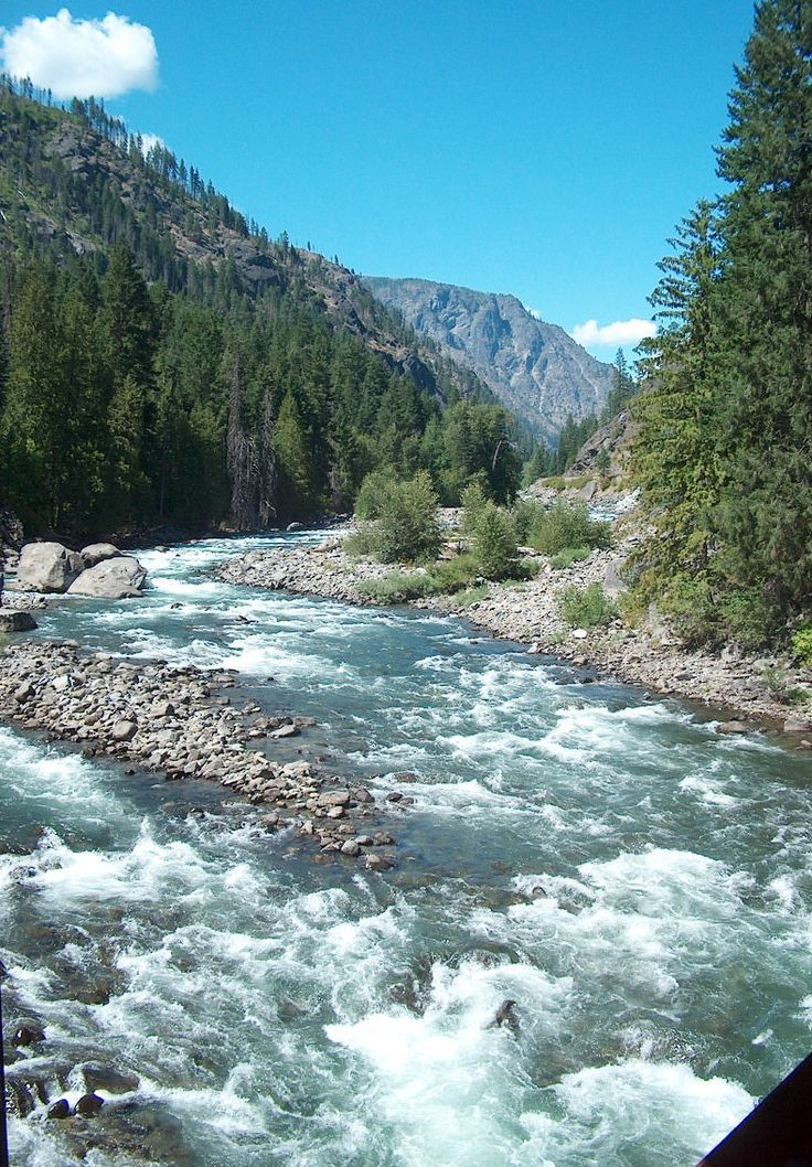 Whitewater rafting the Wenatchee River in Washington State