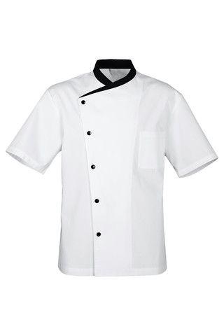 Jacket Kitchen White Short - Chef Gustavo Pasquini