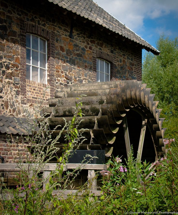 Watermill at Geuldal, Zuid-Limburg, the Netherlands
