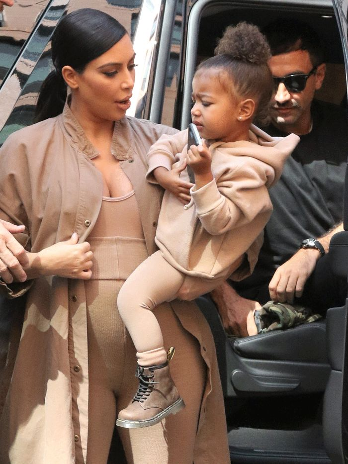This Photo of North West Backstage at Yeezy Is So Cute via @WhoWhatWear