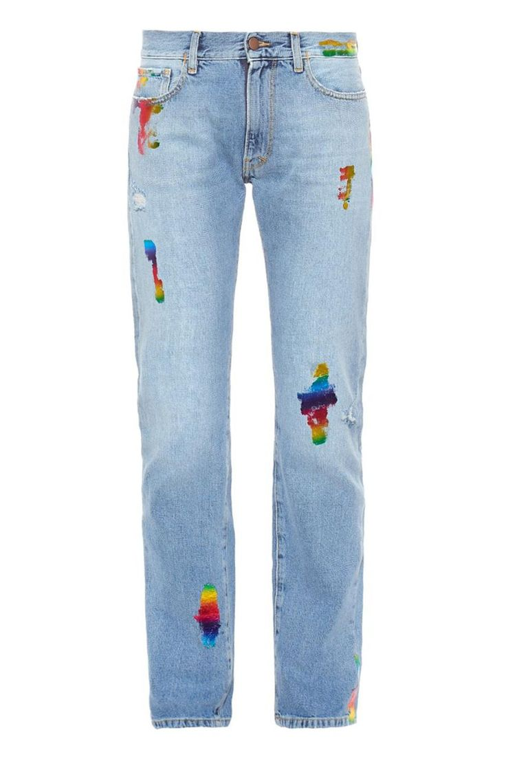 25 Look-At-Me Buys From The Matches Fashion Sale #refinery29  http://www.refinery29.com/matches-summer-sale#slide-21  These jeans relay a #DIY vibe that, let's be honest, we couldn't actually do ourselves. Nonetheless, use these to bring your white T-shirt to life.