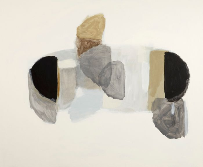 berndwuersching: Michael CusackArchive (8) Aitkin, 2009oil and pencil on canvas, 137 x 168 cm