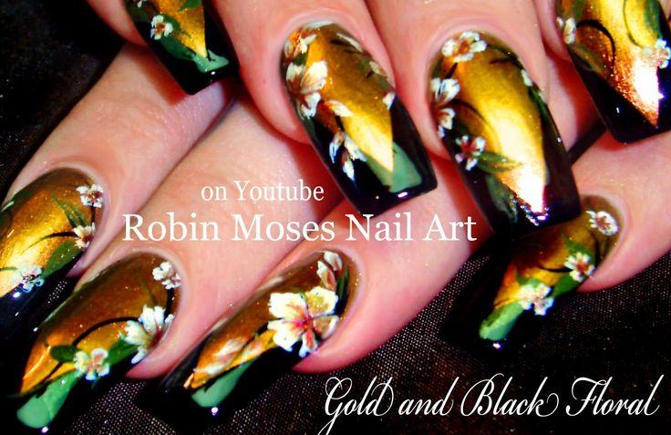 56 best Fall Nail Art Designs & Tutorials images on Pinterest ...