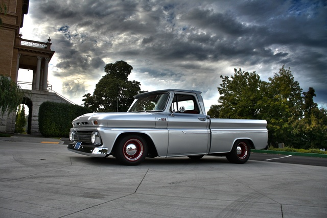 60 Chevy Truck >> Can you see the drool running out of my mouth? ha! | Project Hot Rod: 65 Chevy C10 Stepside ...