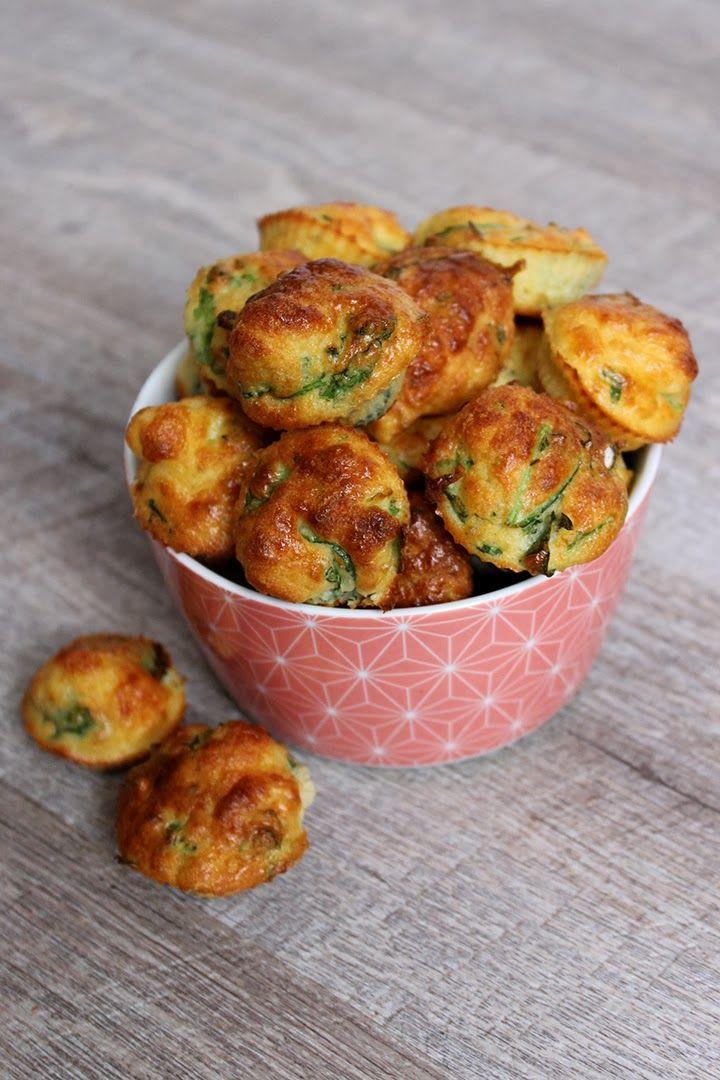 Muffins roquette parmesan