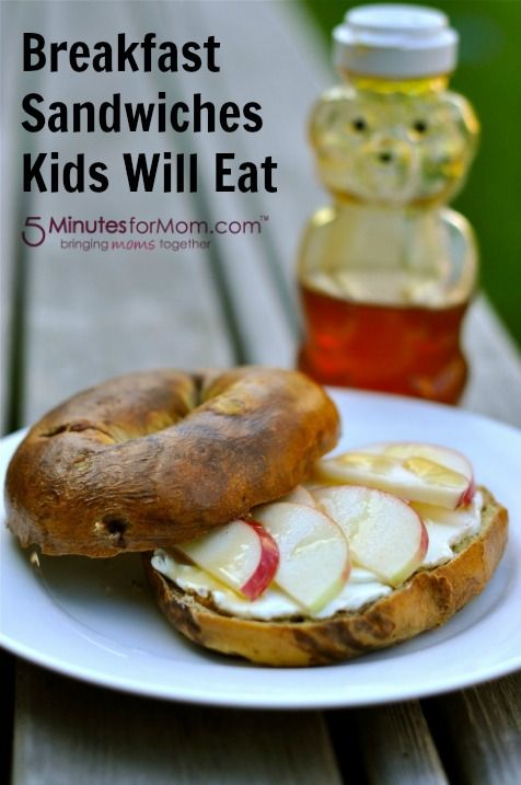 Food writer Lee shares some great recipes and ideas for Breakfast Sandwiches Kids Will Eat.