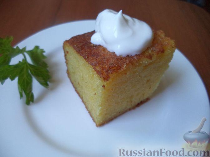 Фото приготовления рецепта: Манник - шаг №13