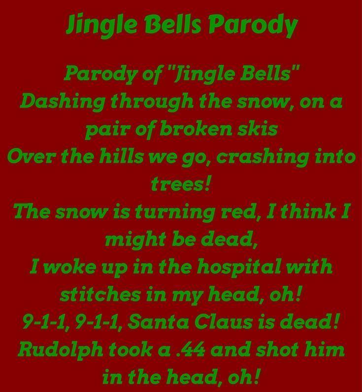 Lustige Weihnachtslieder Texte.Jingle Bells Parodie Lustige Weihnachtslieder Funny