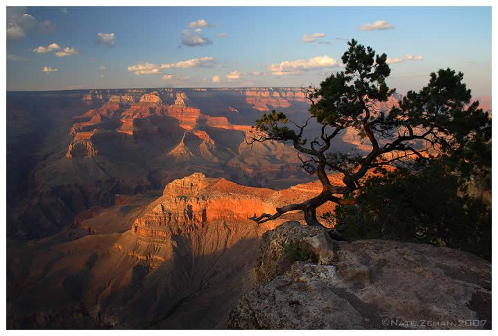 The Grand Canyon in Arizona... Went in March 2004; would like to go again and ride a burro to the bottom