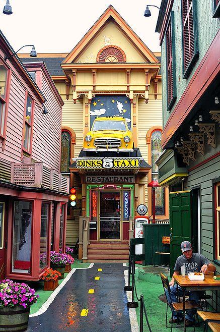 Dinks Taxi, Bar Harbor, Maine - JPG Photos