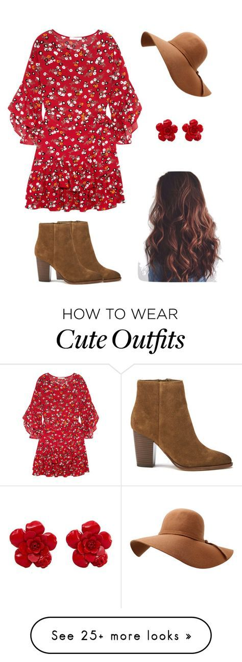 """""""Easy Cute Outfit"""" by sparklyqueen on Polyvore featuring Sam Edelman, Maje and Chanel"""