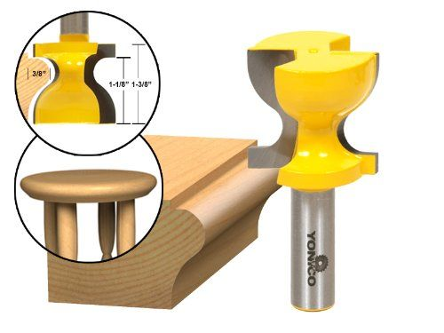 1 2 In Carbide Window Stool Router Bit