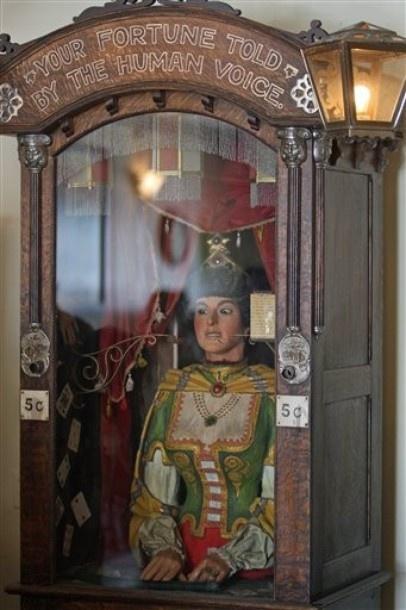 Gypsy Fortune teller machine