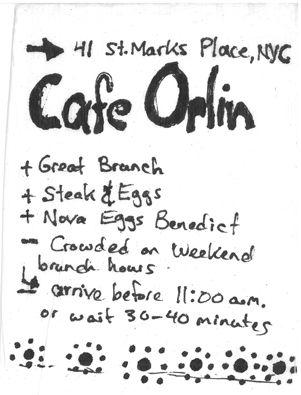 Staple Brunch in LES: Cafe Orlin, Cafe K-Cup