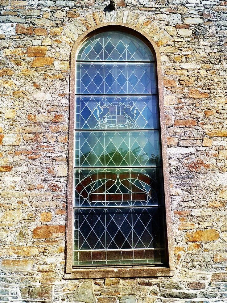 My photo of church window in Cork. Edited the image in Photoshop.