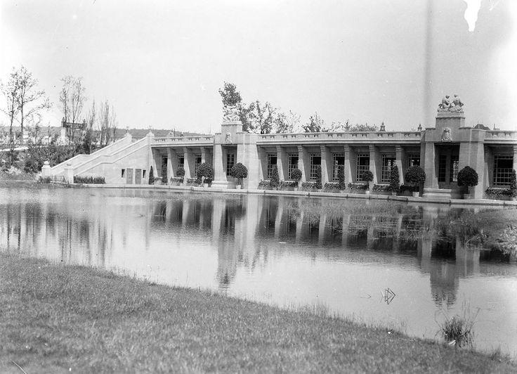 U-Bahnhof Stadtpark (heute Rathaus Schöneberg). Berlin, 1912. o.p.