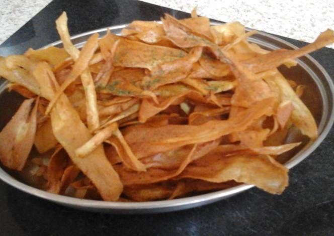 My Deep Fried Parsnip Crisp Recipe -  Very Tasty Food. Let's make it!