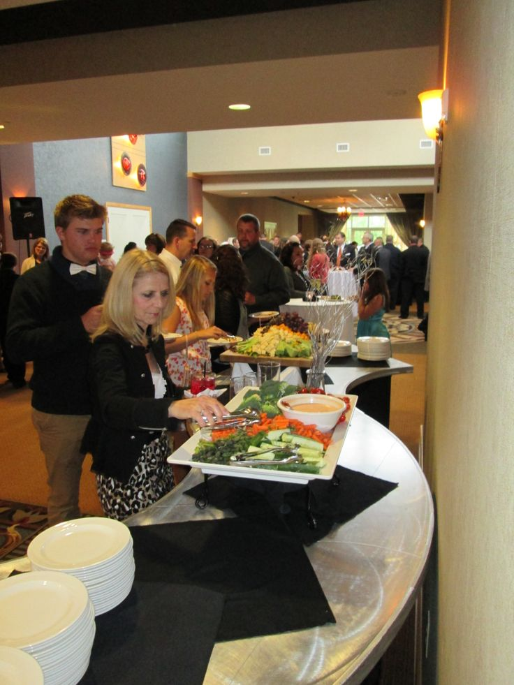 Wedding Reception At The Hilton Garden Inn Perrysburg Ohio Foyer North Hall Hors D 39 Oeuvre
