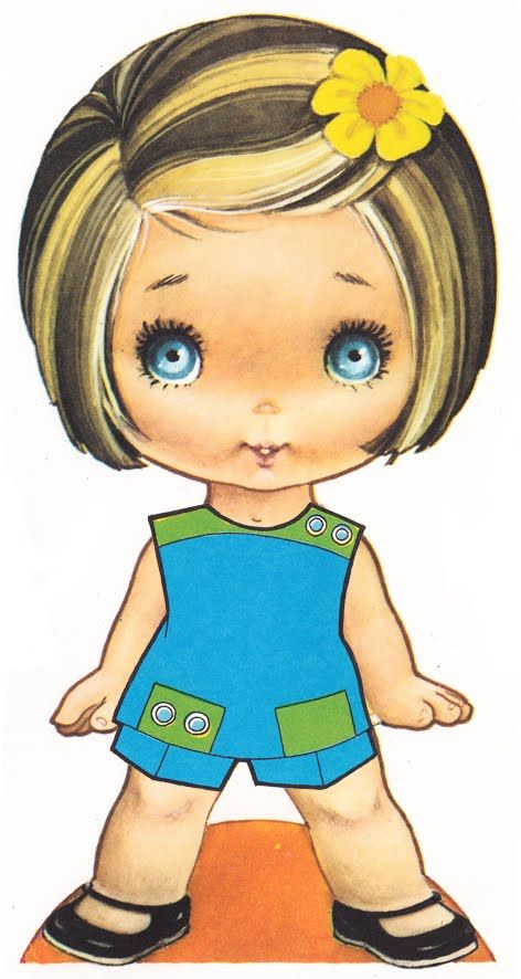 Dibujos de muñequitas - Imagui