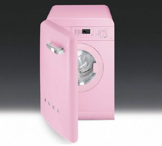 smeg lave linge rose lbb14pk 2 appareil electrique rose pinterest. Black Bedroom Furniture Sets. Home Design Ideas