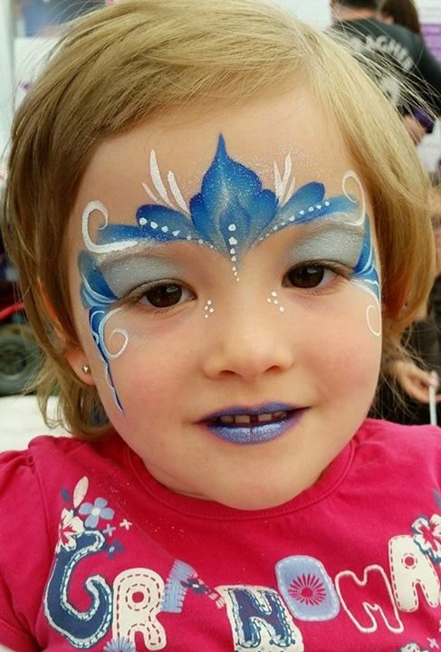Frozen la reine des neiges maquillage enfant pinterest frozen ice and princesses - Maquillage simple enfant ...